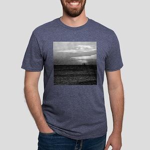 Bellafonte Sunset copy Mens Tri-blend T-Shirt