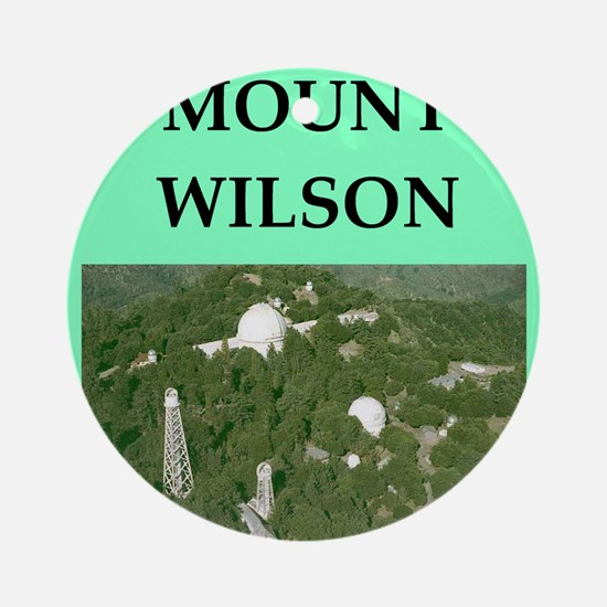 mount wilson Ornament (Round)