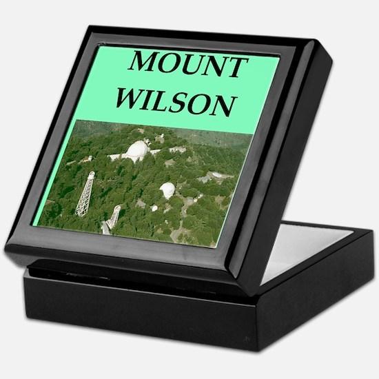 mount wilson Keepsake Box