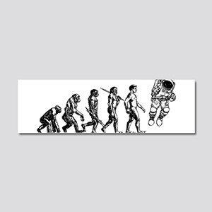 Astronaut Evolution Car Magnet 10 x 3