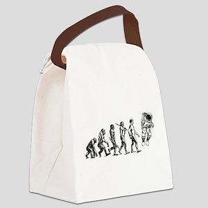 Astronaut Evolution Canvas Lunch Bag