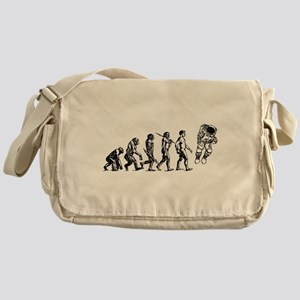 Astronaut Evolution Messenger Bag