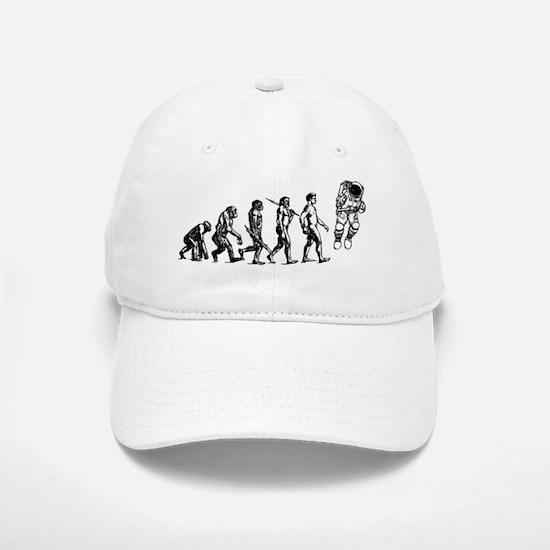 Astronaut Evolution Baseball Baseball Cap