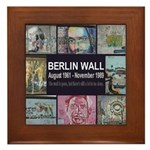 Berlin Wall Framed Tile