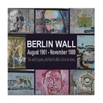Berlin Wall Tile Coaster