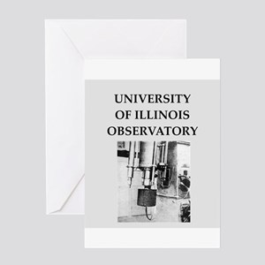 university illinois Greeting Card