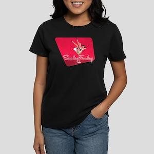 Vintage Sunday Funday Tee Women's Dark T-Shirt