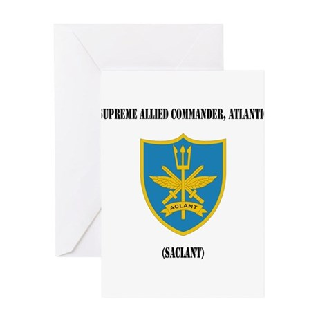 Supreme Allied Commander, Atlantic (SACLANT) with