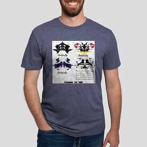 rorschach tee Mens Tri-blend T-Shirt