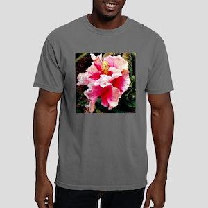 hibiscus square 2 Mens Comfort Colors Shirt