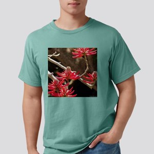 red tree flowers square1 Mens Comfort Colors Shirt
