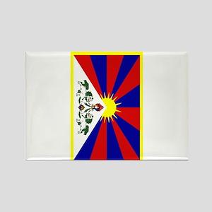 Tibet2 Rectangle Magnet