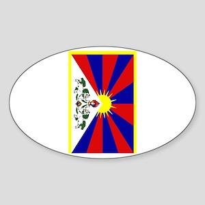 Tibet2 Sticker (Oval)