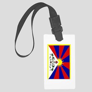 Tibet2 Large Luggage Tag