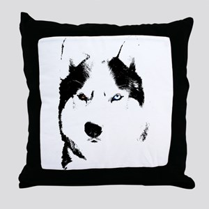 Husky Gifts Bi-Eye Husky Shirts & Gifts Throw Pill