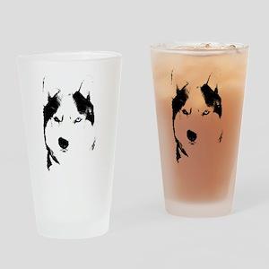 Husky Gifts Bi-Eye Husky Shirts & Gifts Drinking G