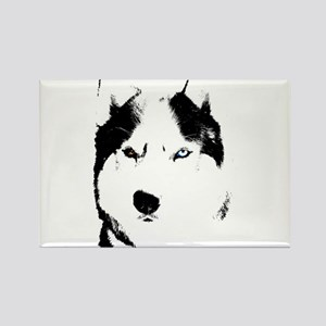Husky Gifts Bi-Eye Husky Shirts & Gifts Rectangle