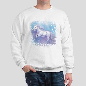 Unicorn Over The Rainbow Sweatshirt