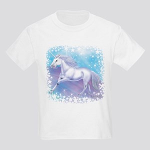 Unicorn Over The Rainbow Kids T-Shirt