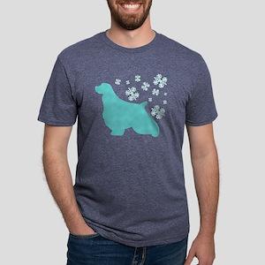 ess-snowflake Mens Tri-blend T-Shirt