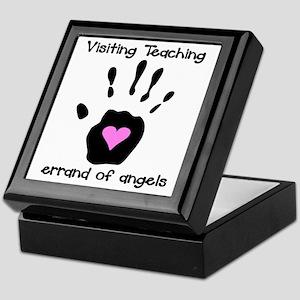 Visiting Teaching Keepsake Box
