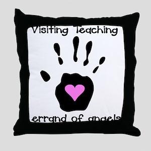 Visiting Teaching Throw Pillow
