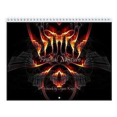 Fractal Mixture Wall Calendar
