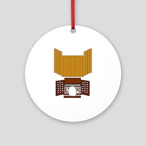Organist Ornament (Round)