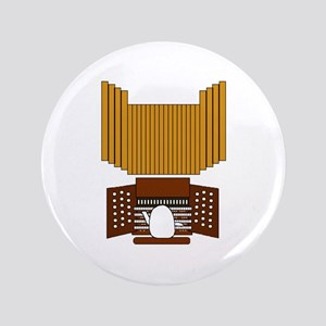 """Organist 3.5"""" Button"""
