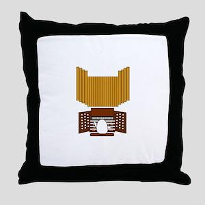 Organist Throw Pillow
