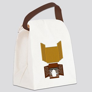Organist Canvas Lunch Bag