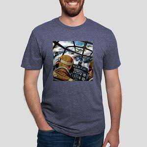 BomberBLK4 Mens Tri-blend T-Shirt