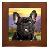 French bulldog Framed Tiles