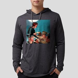 SA2 Mens Hooded Shirt