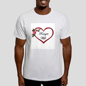 ranger wife Ash Grey T-Shirt