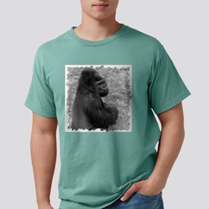 male gorilla on rock10 b Mens Comfort Colors Shirt