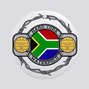 South Africa Water Polo Ornament (Round)