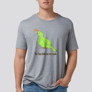 furpbird Mens Tri-blend T-Shirt