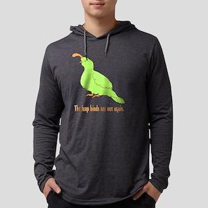 furpbirddark Mens Hooded Shirt