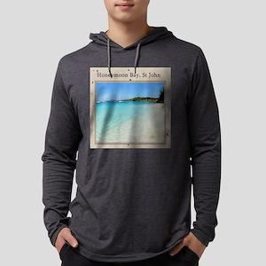 HoneymoonBay-1 Mens Hooded Shirt