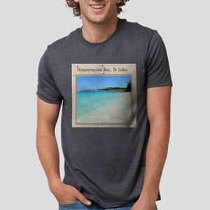 HoneymoonBay-1 Mens Tri-blend T-Shirt