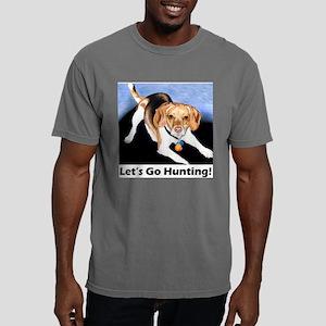 lets go hunting beagle1. Mens Comfort Colors Shirt