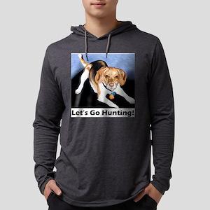 lets go hunting beagle1 Mens Hooded Shirt