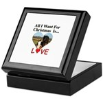 Christmas Love Keepsake Box