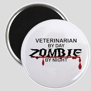 Veterinarian Zombie Magnet