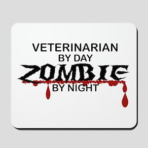 Veterinarian Zombie Mousepad