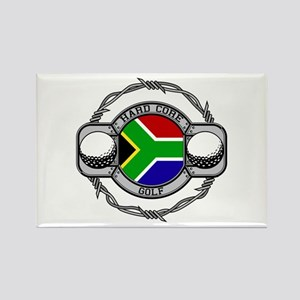 South Africa Golf Rectangle Magnet
