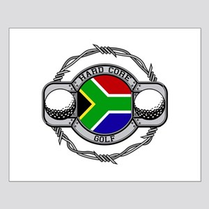 South Africa Golf Small Poster