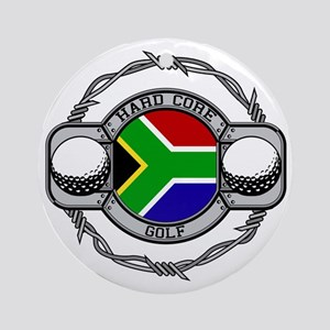 South Africa Golf Ornament (Round)
