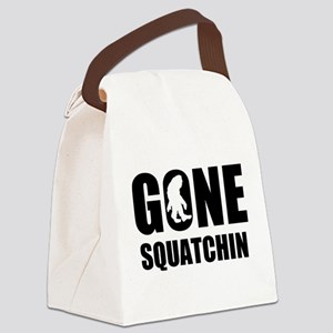 Gone sqautchin Canvas Lunch Bag